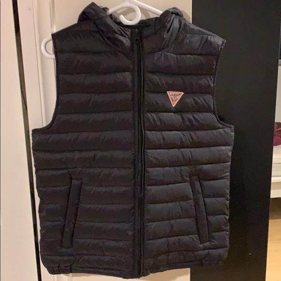 guess bubble vest